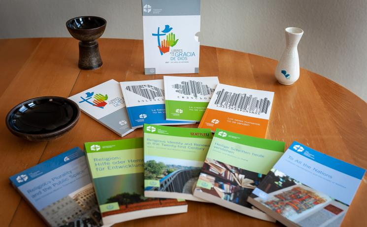 The LWF and EVA publishing house have jointly produced several publications. Photo: LWF/S. Gallay