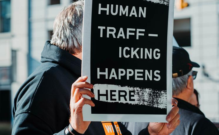 Webinar showcases churches' work to bring support and hope to survivors of human trafficking. Photo: Hermes Rivera on Unsplash