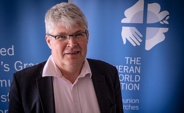Rev. Rolf Steffansson. Photo: LWF/ S. Gallay