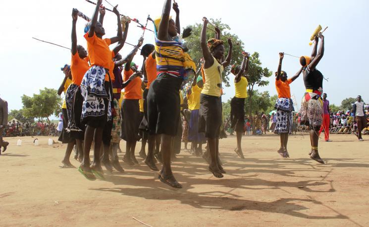 Adjumani World Refugee Day celebrations in Ayilo. Photo: LWF/ H. Lehto