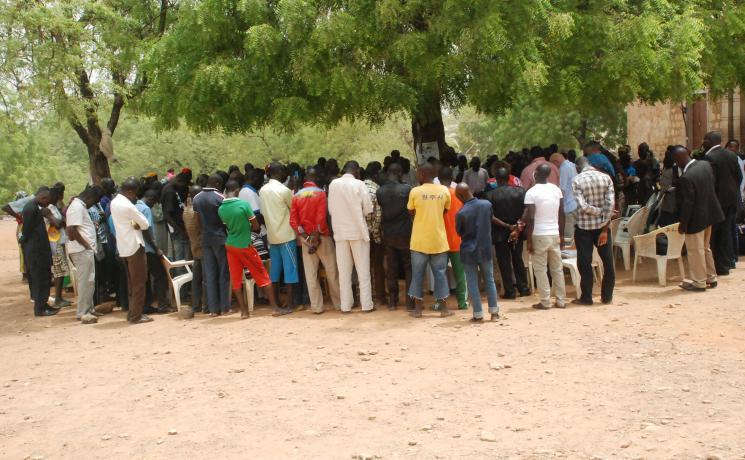 Photo from recent LWF visit to Nigeria.  Photo: J.Faden/LWF