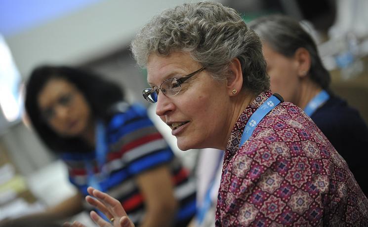 Rev. Dr Robin Steinke. Photo: LWF/M. Renaux