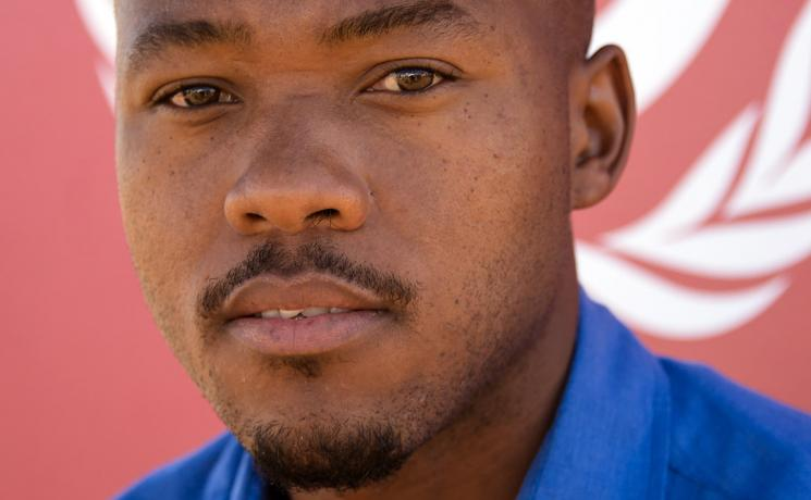 Theology student Khulekani Sizwe Magwasa. Photo: LWF/Ryan Rodrick Beiler