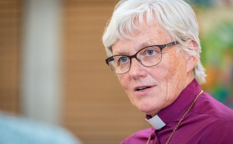 Rev. Dr Antje Jackelén, Archbishop of the Church of Sweden and LWF Vice-President for the Nordic region. Photo: LWF/A.Hillert