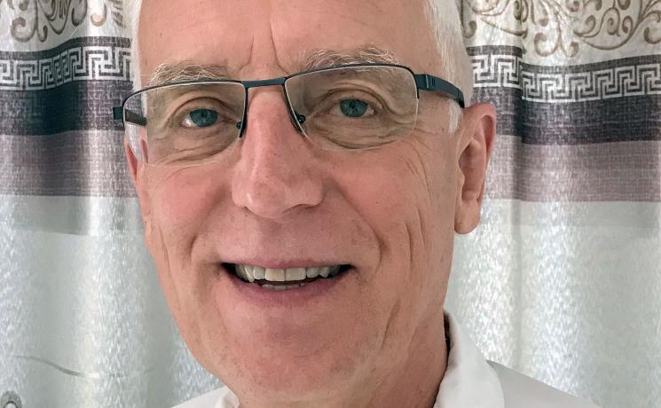 Mr Marcus Busch, past president, Canadian Lutheran World Relief. Photo: Margaret Sadler
