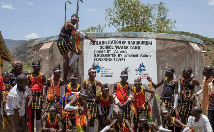 Bringing water and life to the Turkana people at Nakururum and Lokwamur in Kenya. #WorldWaterDay Photo: ALWS / H. Wikstrom