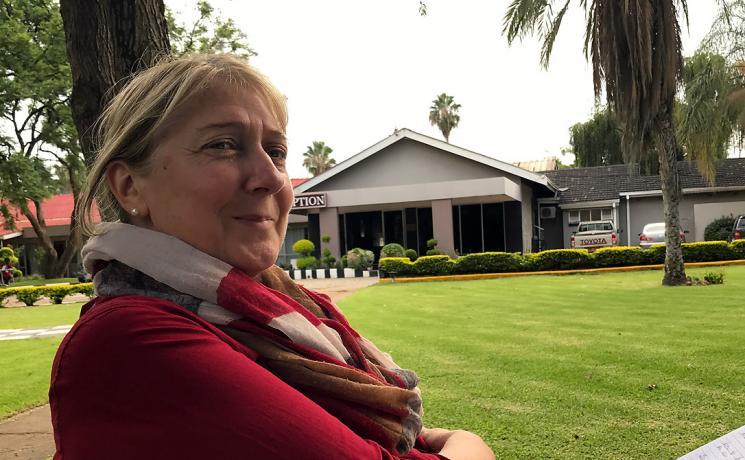 Dr Martina Fischer. Photo: LWF/I. Benesch