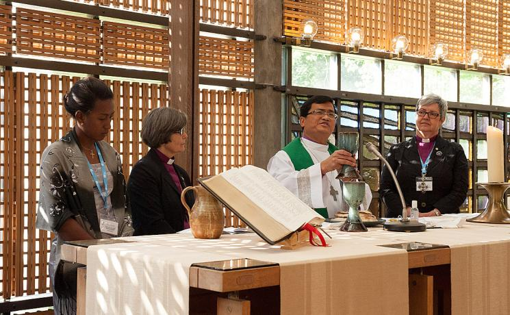Opening worship at the LWF Council meeting. Photo: LWF/Helen Putsman