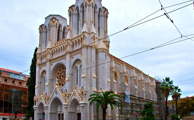 Notre-Dame Basilica in the southern French city of Nice. Photo: LimeWave (CC-BY)