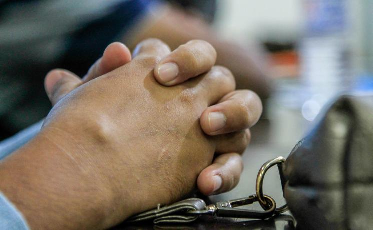 Churches support each other through prayer. Photo: LWF/Johanan Celine P. Valeriano
