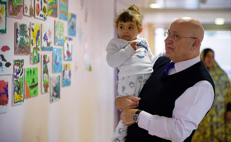 Augusta Victoria Hospital CEO Walid Nammour: the hospital is the main arm of the LWF in Jerusalem. Photo: LWF/M.Renaux