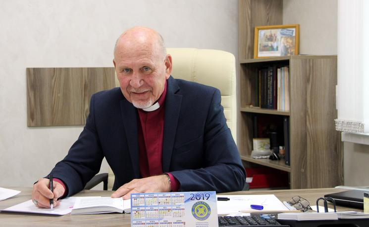 Yuri Novgorodov, Archbishop of the Evangelical Lutheran Church in the Republic of Kazakhstan. Photo: LWF/A. Weyermüller