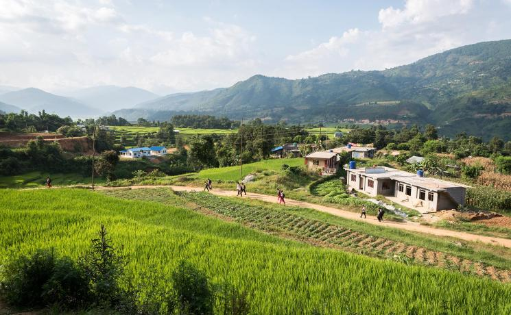 Kavre District, Nepal. Photo: LWF/Albin Hillert