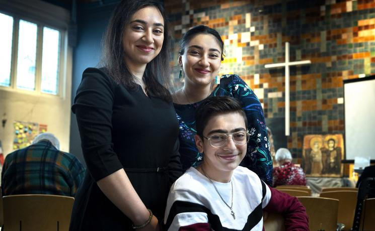 The Tamrazyan family arrived in the Netherlands from Armenia nine years ago. Photo: Peter Wassing