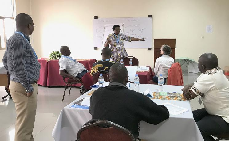 Participants of the theological education workshop looked at new ways of teaching that are critical and creative. Photo: Chad Rimmer