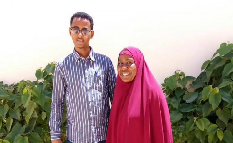 Abdi Abdullahi has come home. He is grateful to LWF for helping him gain the life experience that has enabled him to return to Somalia and serve his community. Photo: LWF/ Anne Wangari