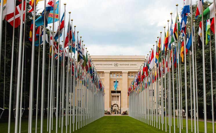 The United Nations headquarters in Geneva where the 45th regular session of the Human Rights Council is taking place. Photo: Unsplash/Mat Reding