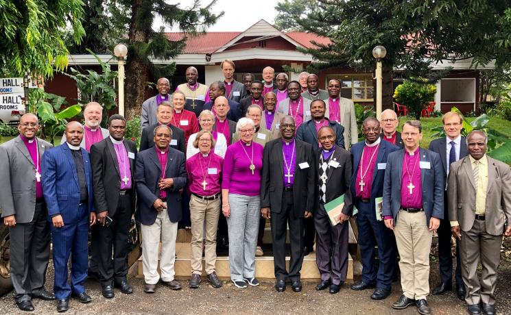 Bishops of the Evangelical Lutheran Church of Tanzania and the Church of Sweden during their joint retreat in Moshi, Tanzania Photo: LWF