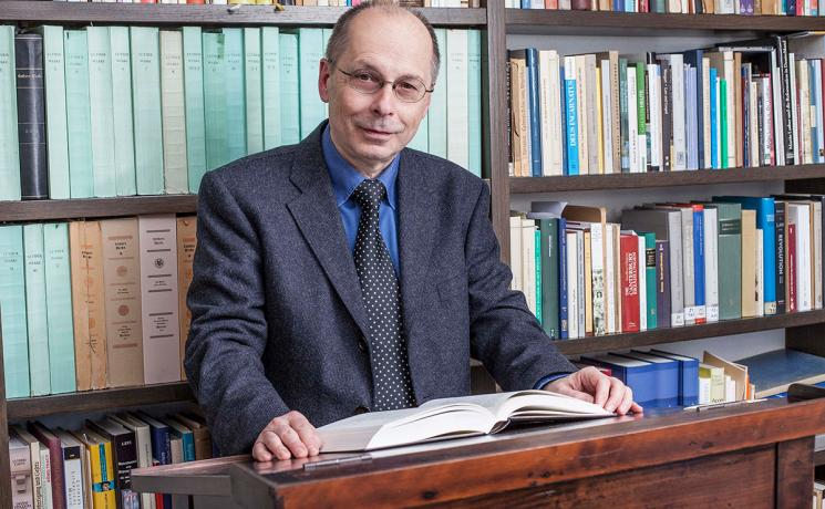 Prof. Theodor Dieter, director, LWF Institute for Ecumenical Research in Strasbourg, France. Photo: Biersack