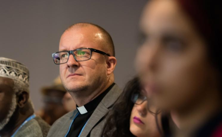 In the Church of Norway Rev. Einar Tjelle heads the Section for Ecumenism and Interfaith Dialogue and the Norwegian Interfaith Climate Network. Photo: LWF/Albin Hillert