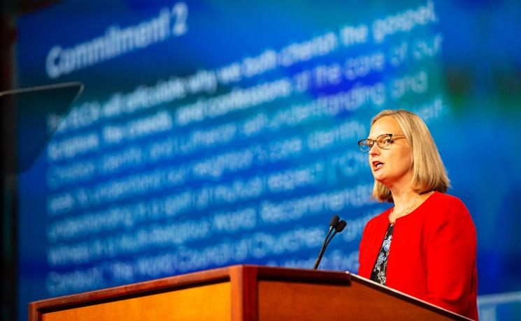 Ms Kathryn Mary Lohre, Executive for Ecumenical and Inter-religious Relations & Theological Discernment for the Evangelical Lutheran Church in America (ELCA). Photo: ELCA