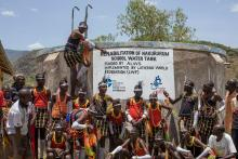Bringing water and life to the Turkana people at Nakururum and Lokwamur in Kenya. #WorldWaterDay Photo: ALWS / H. Wikstrom