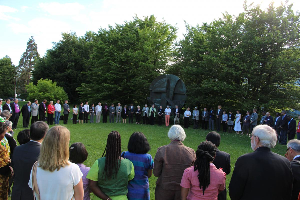 Council 2013 evening prayer © LWF/M. Haas