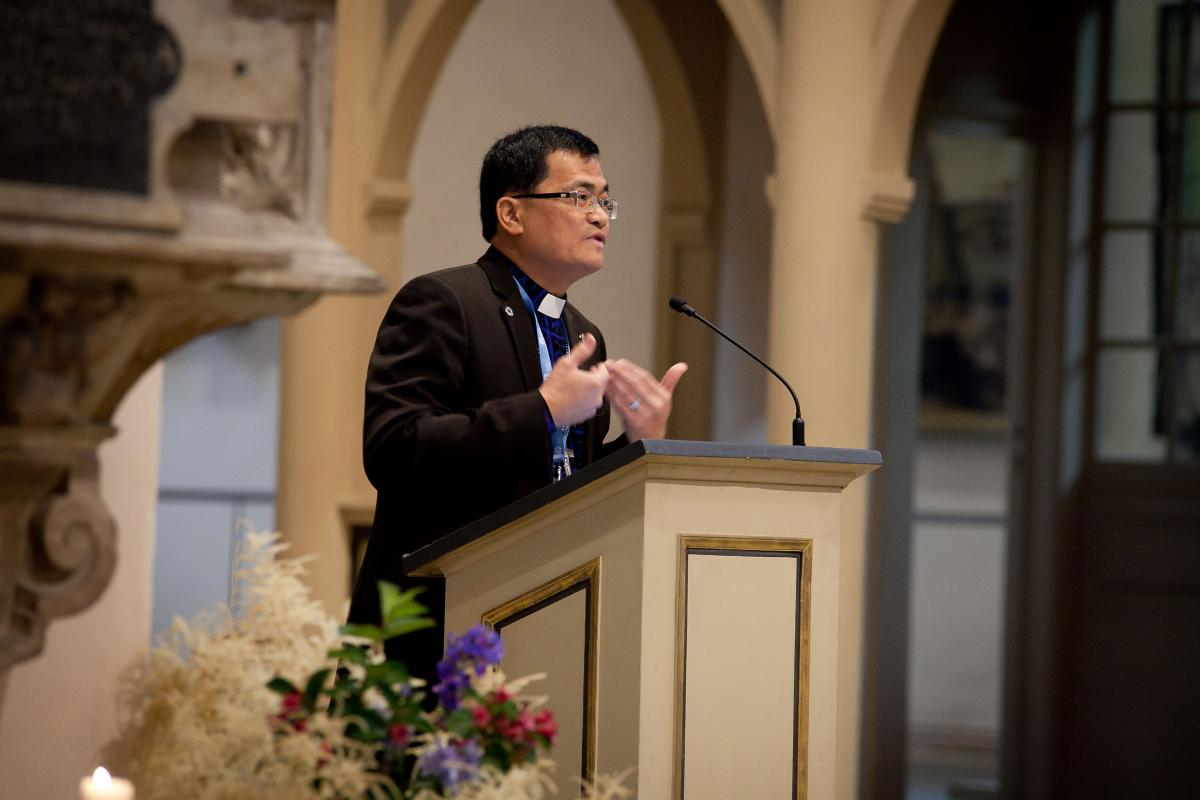 LWF Council member Bishop Aaron Chuan Ching Yap says the international Lutheran-Catholic dialogue provides impetus for Malaysia's Christians to move forward and embrace each other in a spirit of reconciliation. Photo: LWF