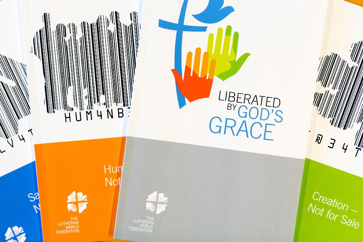 The Reformation study booklets are an ideal resource to guide churches toward the 2017 anniversary. Photo: S. Gallay