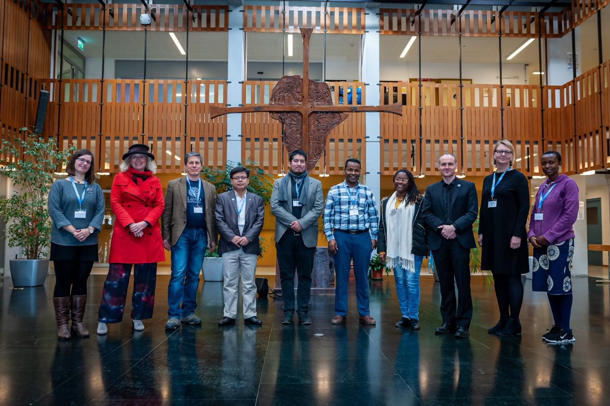 Members of the LWF Strategic Advisory Group for Theological Education and Formation, at the January 2020 meeting in Geneva. Photo: LWF/S. Gallay