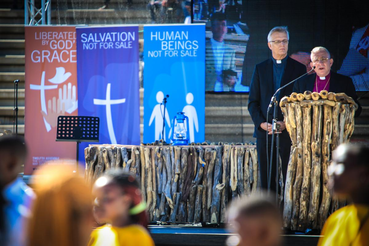 Global Commemoration of the 500th Anniversary of the Reformation - highpoint of the Twelfth Assembly of the Lutheran World Federation in Windhoek, Namibia. Photo: LWF/JC Valeriano