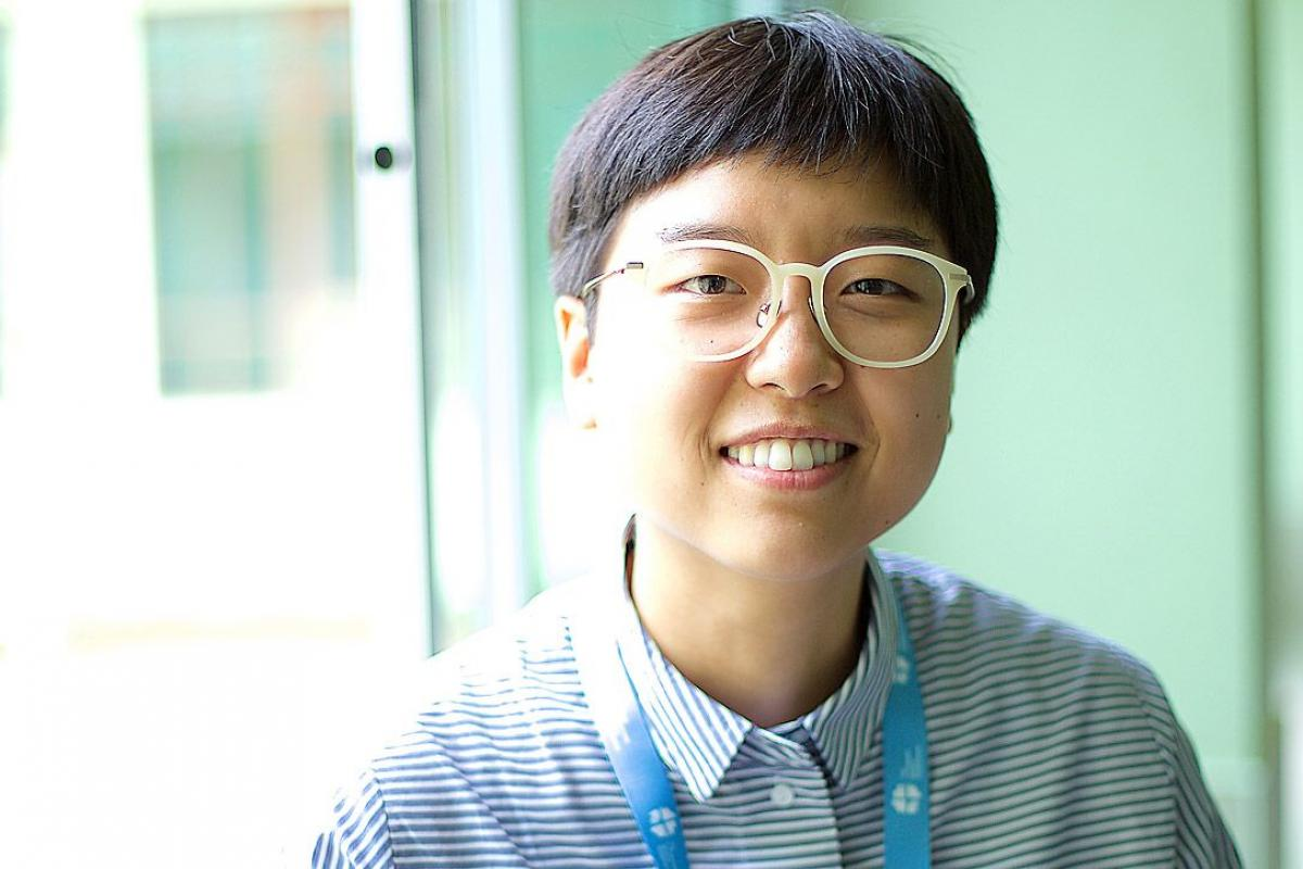 LWF Vice-President for Asia Eun-hae Kwon: looking forward to witnessing unity in Christ. Photo: LWF/Romans Wong