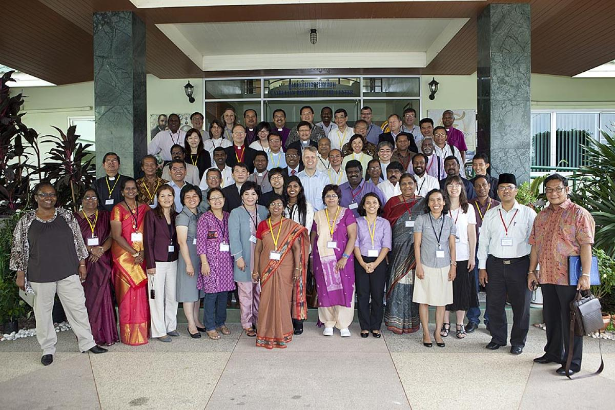 Member churches and related organizations assembled for a leadership conference in Asia.