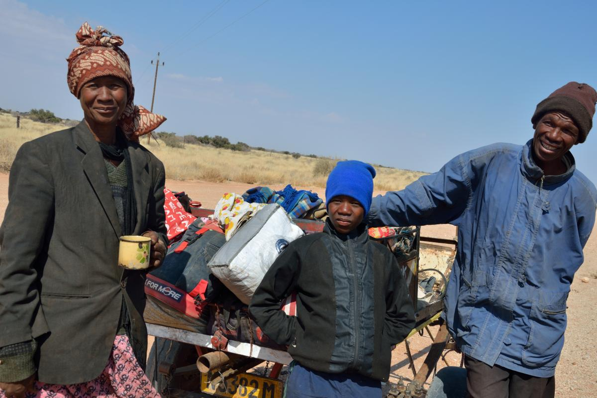 Magdaline's family depends on her monthly pension for survival. Photo: LWF/Thomas Ekelund