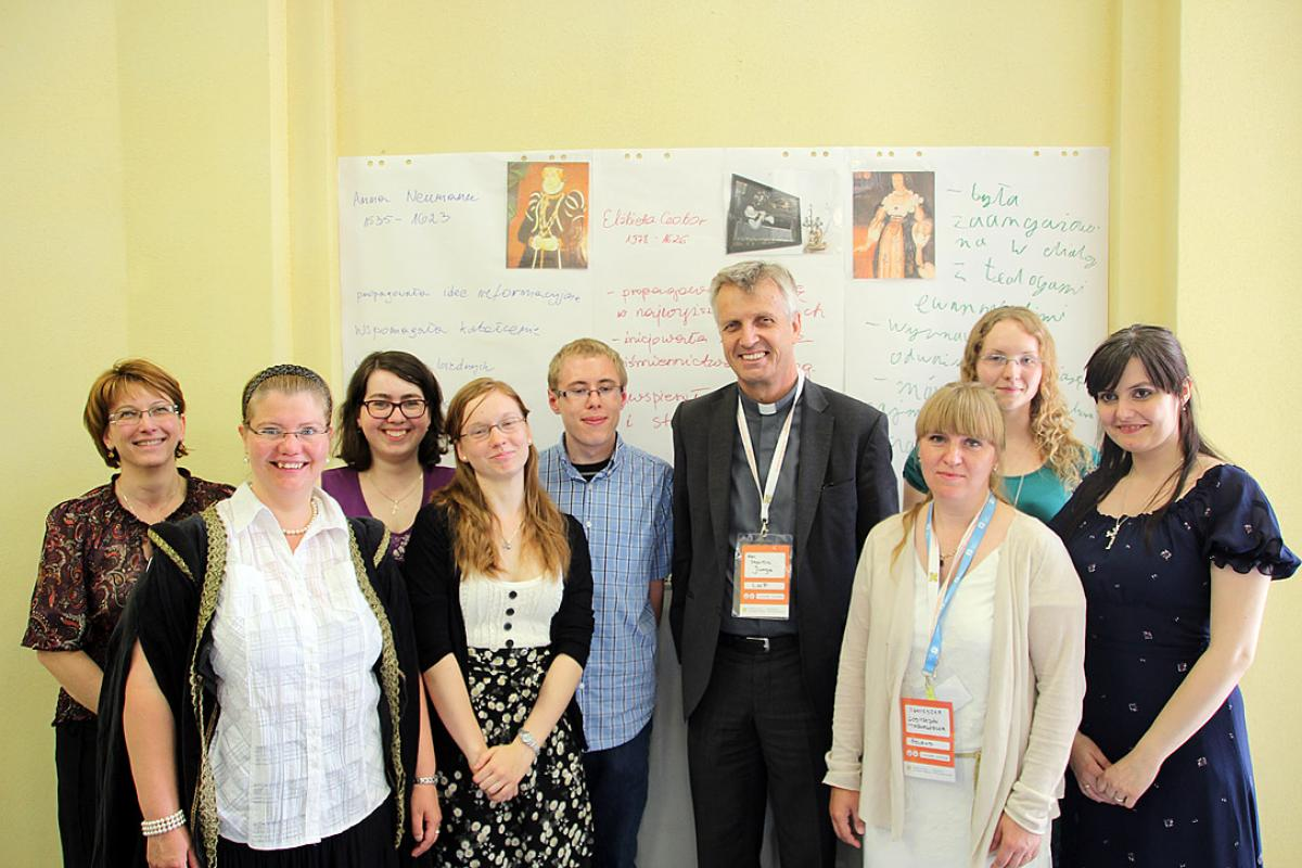 Over 5,000 people from 12 countries attended the 9th Days of Encounter for Christians from Central and Eastern Europe in Wroclaw from 4 to 6 July. Photo: LWF/Florian Hübner