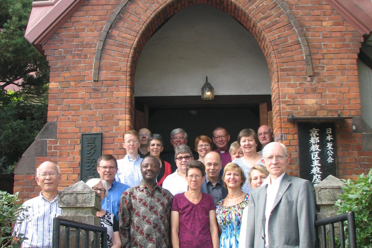Lutheran-Catholic commission members worshipped at St Agnes Episcopal Cathedral in Kyoto. Photo: LWF