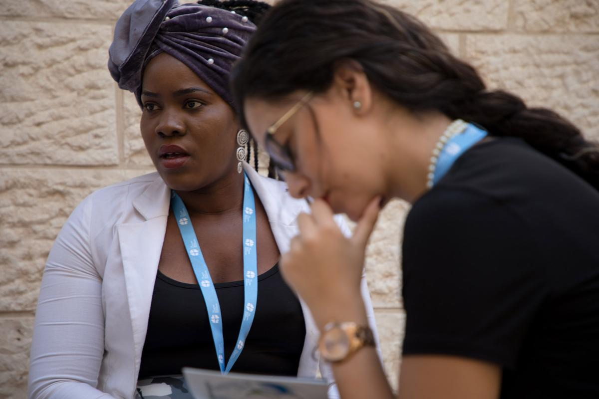 Participants in the LWF Peace Messenger Training in Jerusalem in September 2017. Photo: Ben Gray