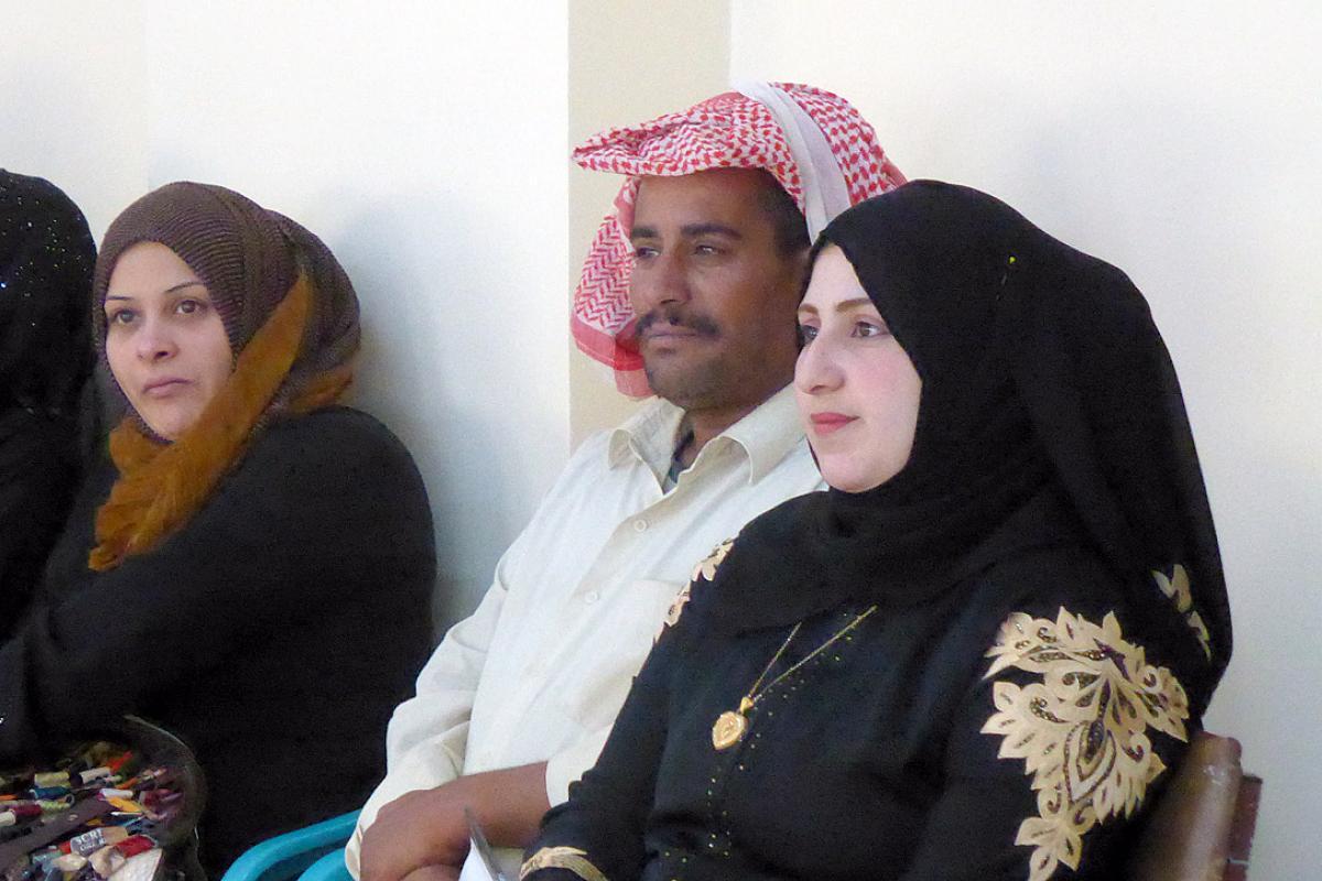 Peace-building workshop in Al Mafraq. Photo:LWF/ H. Martinussen