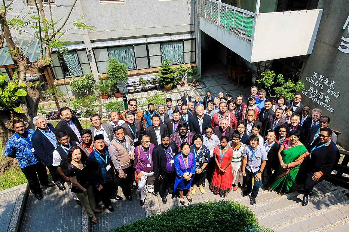 Asian church leaders at the 2015 ACLC in Taiwan. Photo: LWF/JC Valeriano