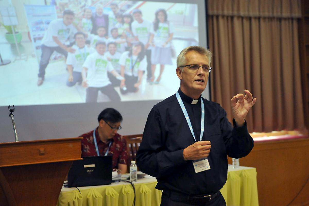 LWF General Secretary Rev. Dr Martin Junge said the Asia Pre-Assembly is an opportunity for church representatives to meet, share their work and exchange ideas. Photo: LWF/A. Danielsson