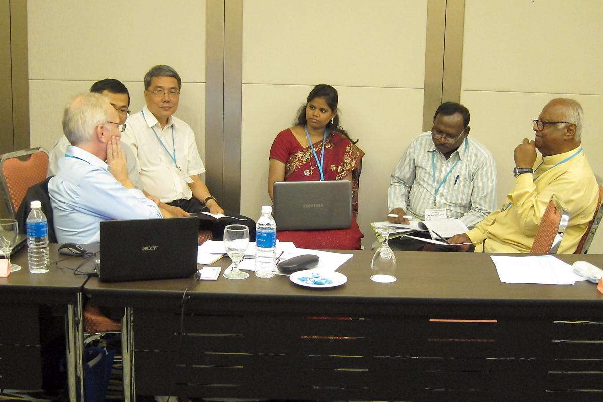 Participants in the Conference on Asian Lutheranism and Lutheran Identity. Photo: LWF/W. Chang
