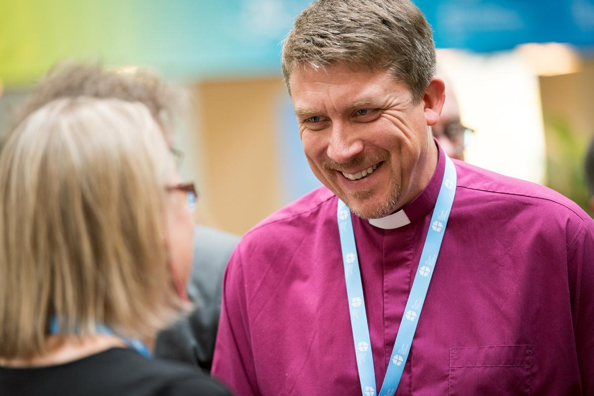 LWF vice president for Central Eastern Europe Archbishop Urmas Viilma. Photo: LWF/Albin Hillert