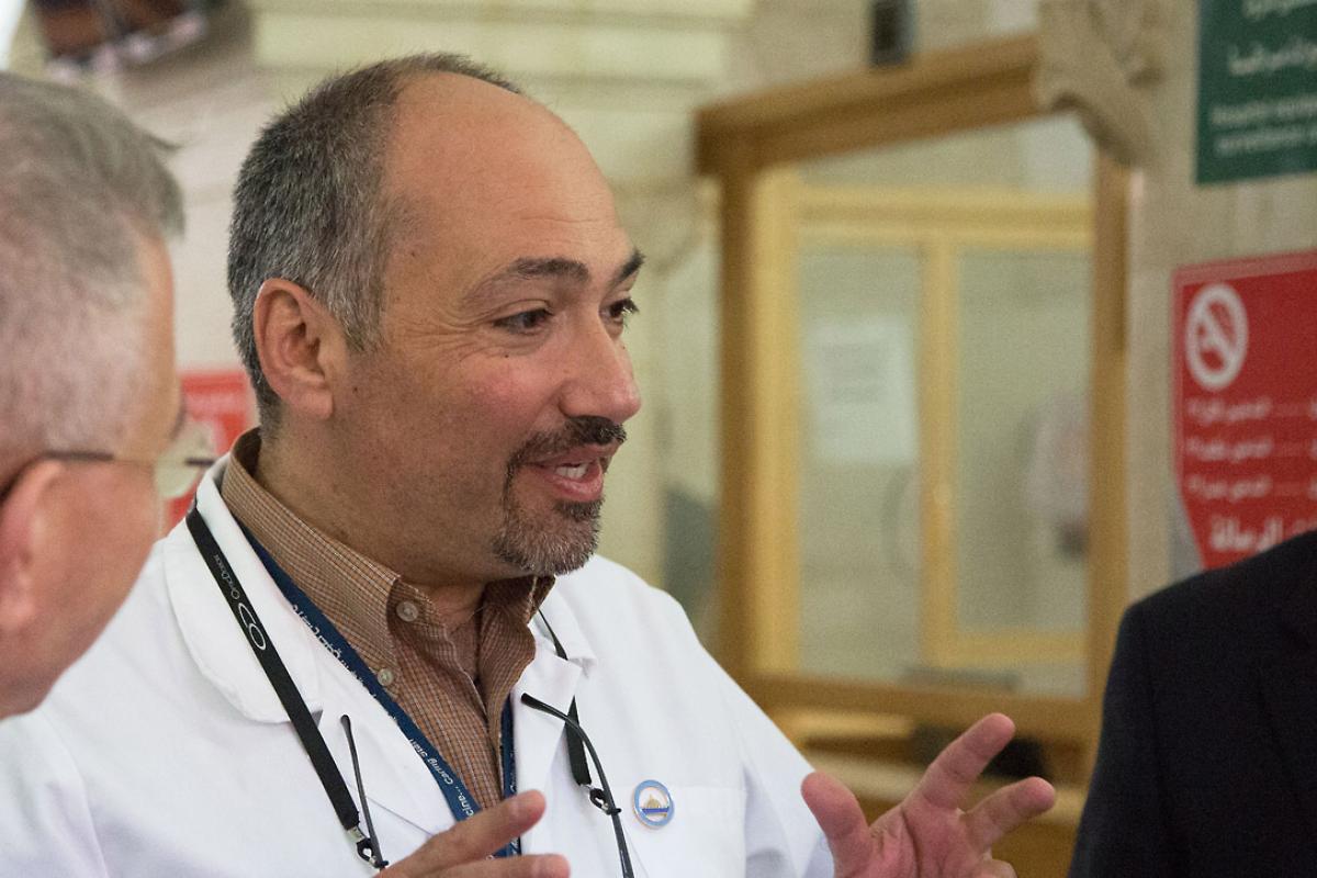 Photo: Dr Tawfiq Nasser, 2014. Photo: LWF Jerusalem
