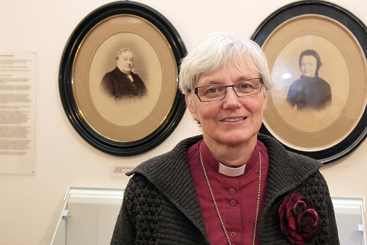 Church of Sweden Archbishop Dr Antje Jackelén. Photo: Dr Thilo Fitzner