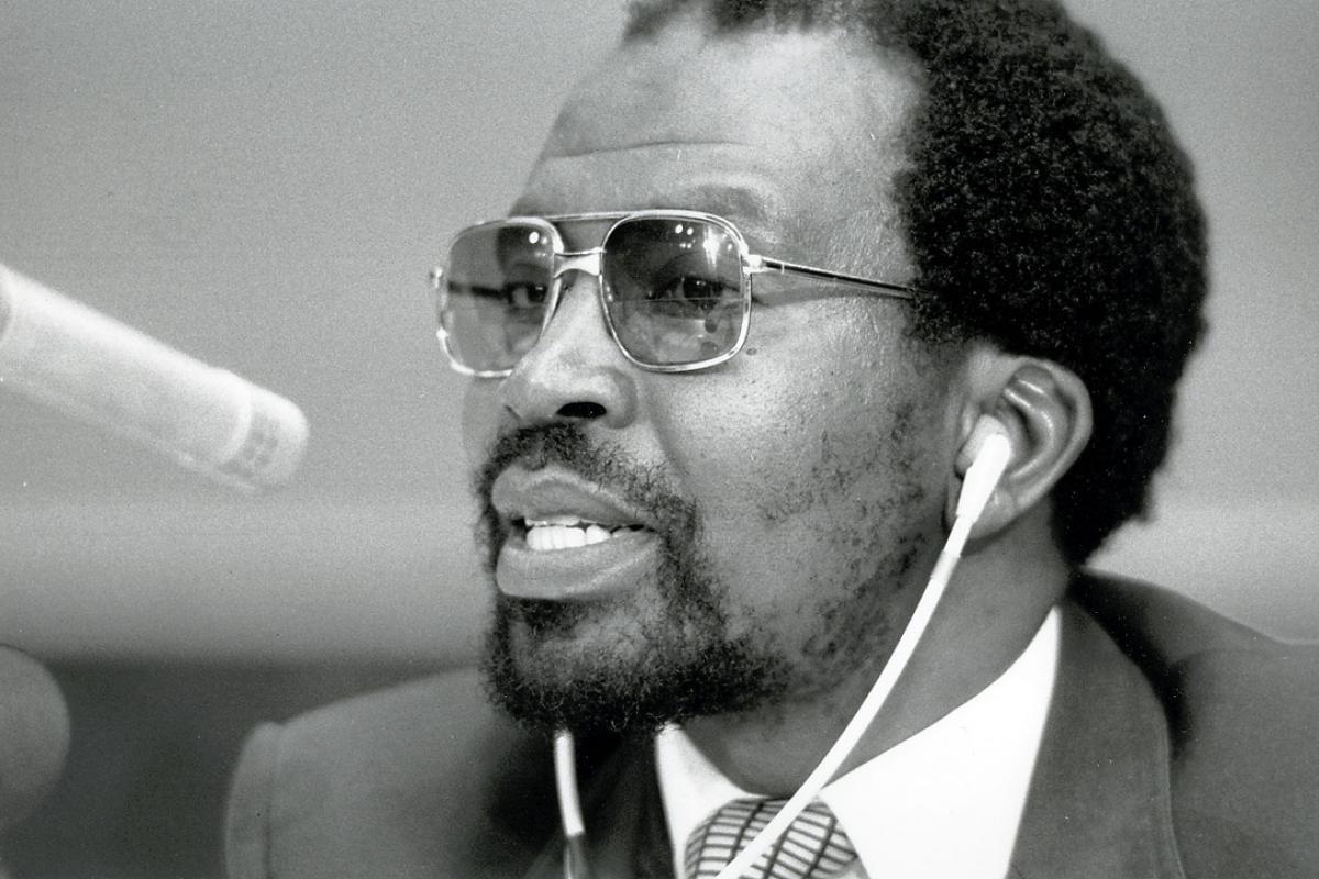 Bishop (Emeritus) Manas Buthelezi. Photo: LWF Archives