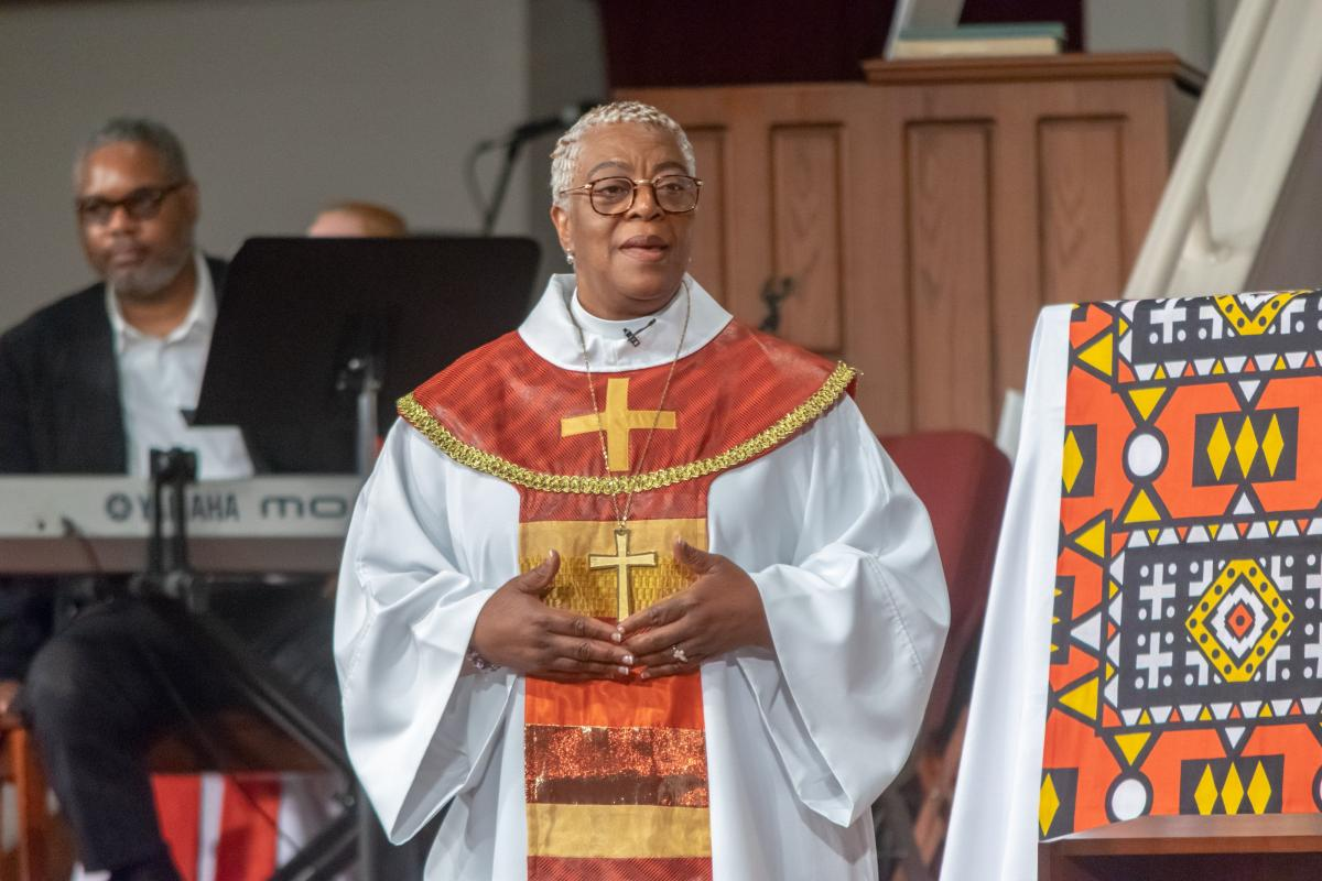 Bishop Patricia Davenport, ELCA Southeastern Pennsylvania Synod. Photo: Bob Fisher-SEPAComm