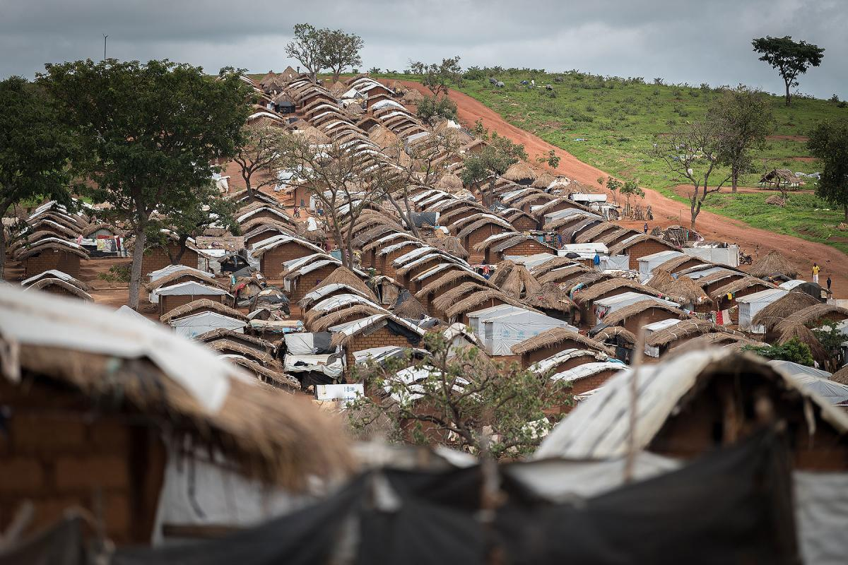 The Borgop camp is currently home to some 12,300 refugees from the Central African Republic.