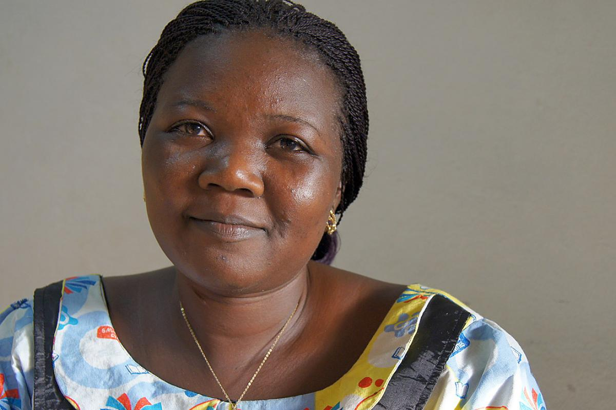 Deena Houmhisna, a psychosocial worker with LWF Chad, supports people who have seen unimaginable things. Photo: LWF Chad