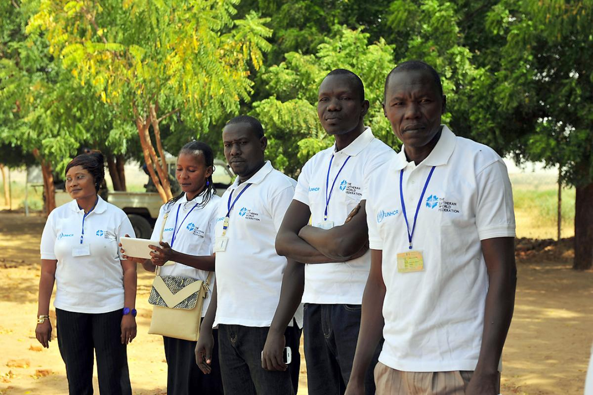 Staff of LWF Chad praised for competence and commitment. Photo: LWF/A. Danielsson