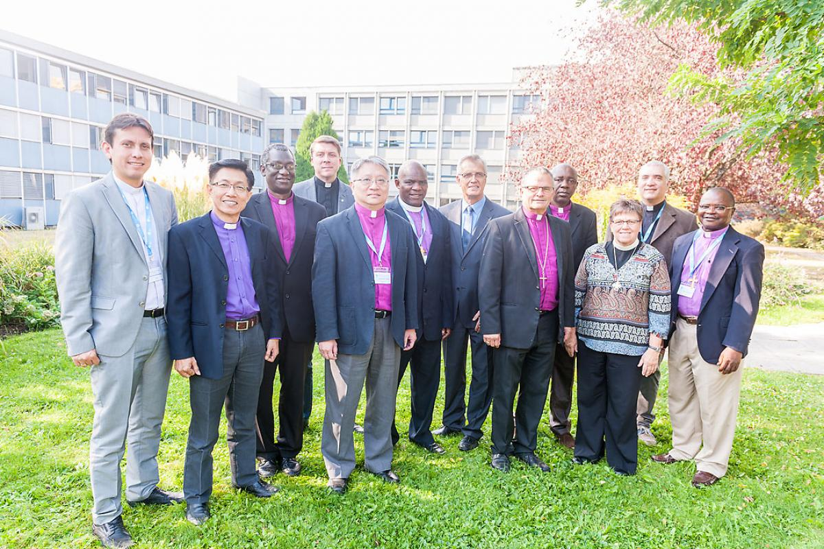 A group of recently elected Lutheran church leaders took part in a week-long program at the LWF Communion Office to learn more about LWF's work and exchange ideas from their respective regions. Photo: LWF/S. Gallay